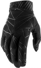 New 100% Ridefit Glove Black/White S M L XL Motocross